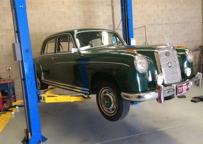 Mac city old, classic car service in Melbourne