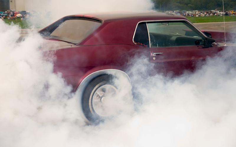 What to Do When Your Car Smells Like Burning Rubber!